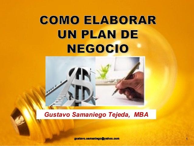 libro como elaborar un plan de negocios descargar gratis